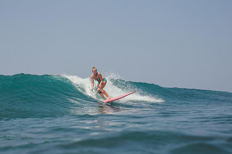 Surfing Srilanka